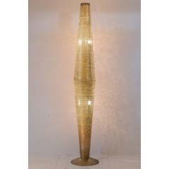 FLOOR LAMP FLSK GOLD 180    - FLOOR LAMPS